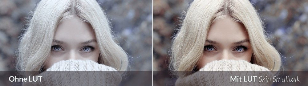 LUTs for Skin Tone 2.0