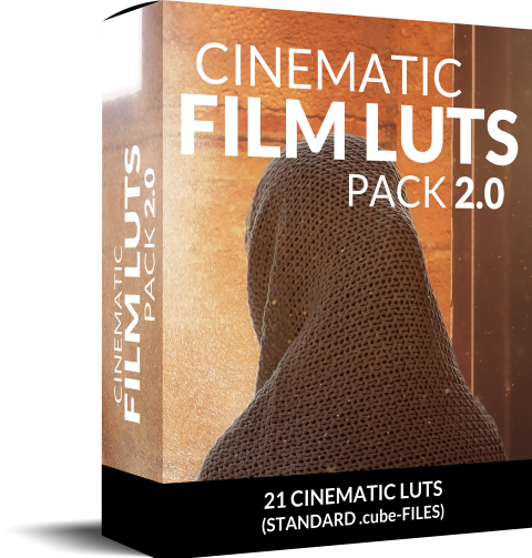 Luts Pack for Adobe Premiere Pro (Cinematic)