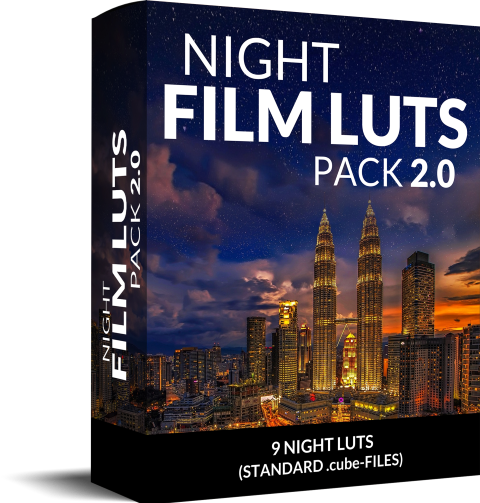 8 LUTs for Night Shots