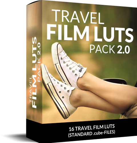 Box travel film LUTs for travel videos
