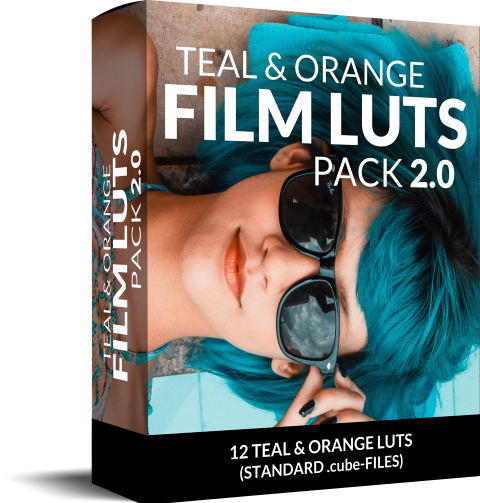 Box teal and orange LUT Premiere Pro