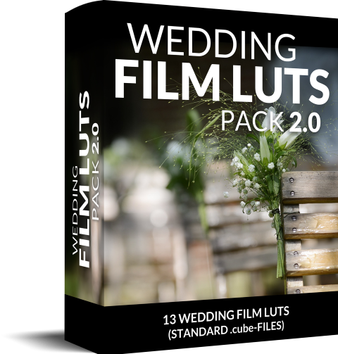 Box wedding LUTs Premiere Pro